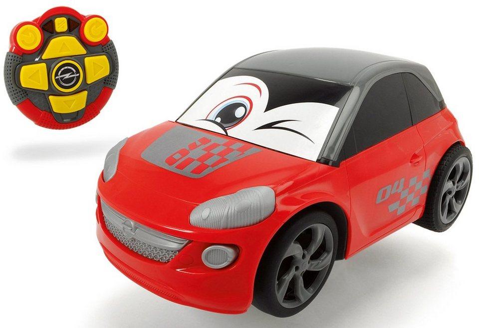 Dickie RC Auto mit Licht und Sound, »Happy Opel Adam« in rot