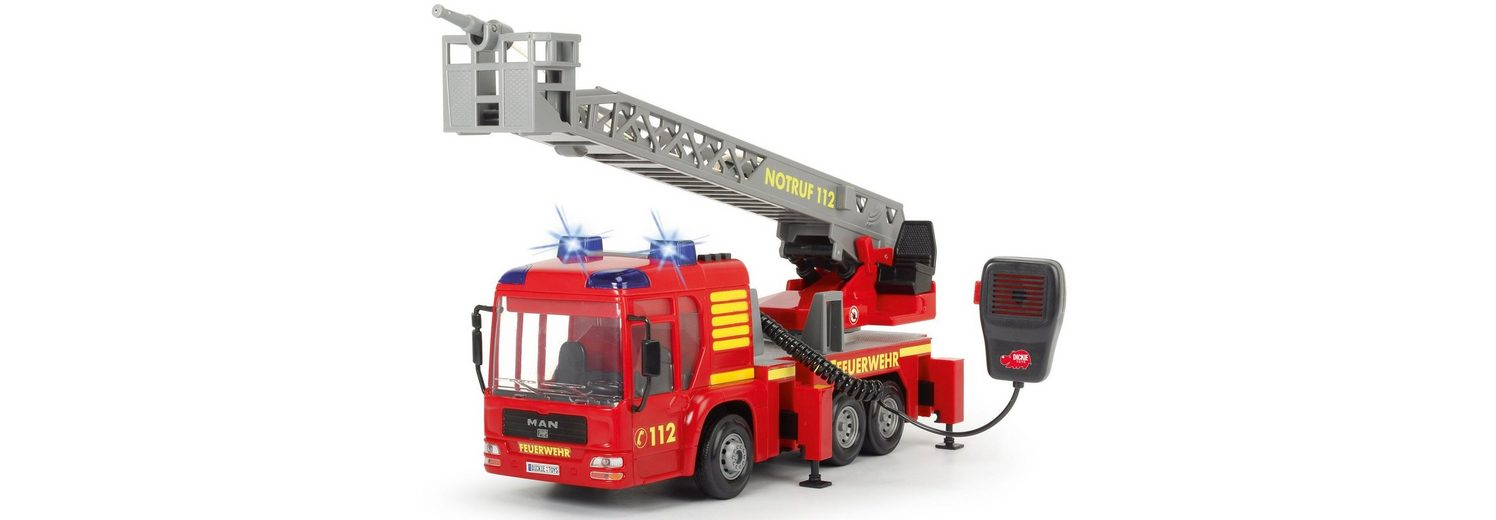 Dickie Spiellöschfahrzeug mit Wasserspritze, »Fire Hero«