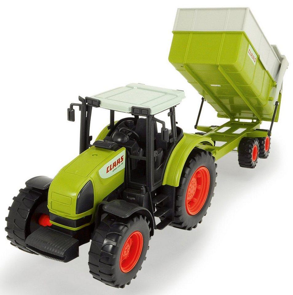 Dickie Spielzeugtraktor, »CLAAS Ares Set« in grau