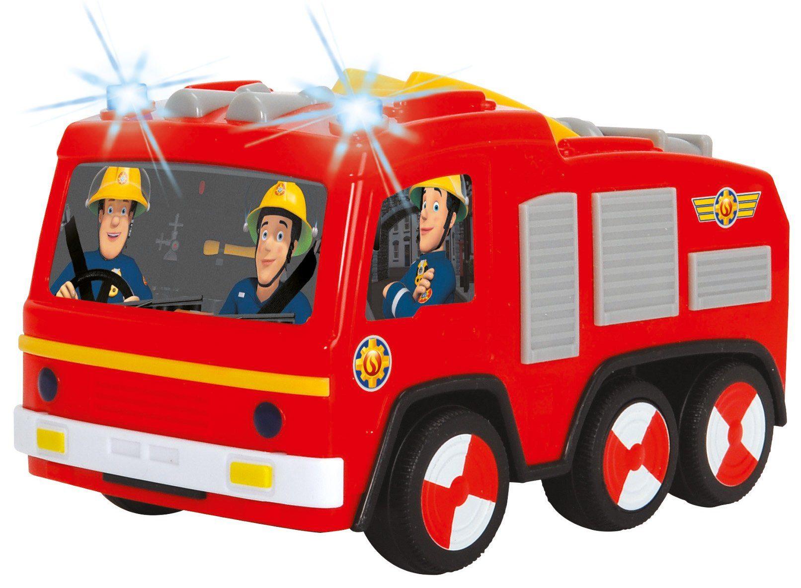 Dickie Toys Feuerwehrauto mit Licht, »Feuerwehrmann Sam Non Fall Jupiter«