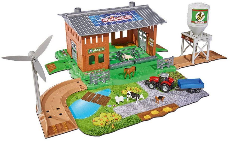 Majorette Spielzeug Bauernhof, »Creatix Stable Playset«