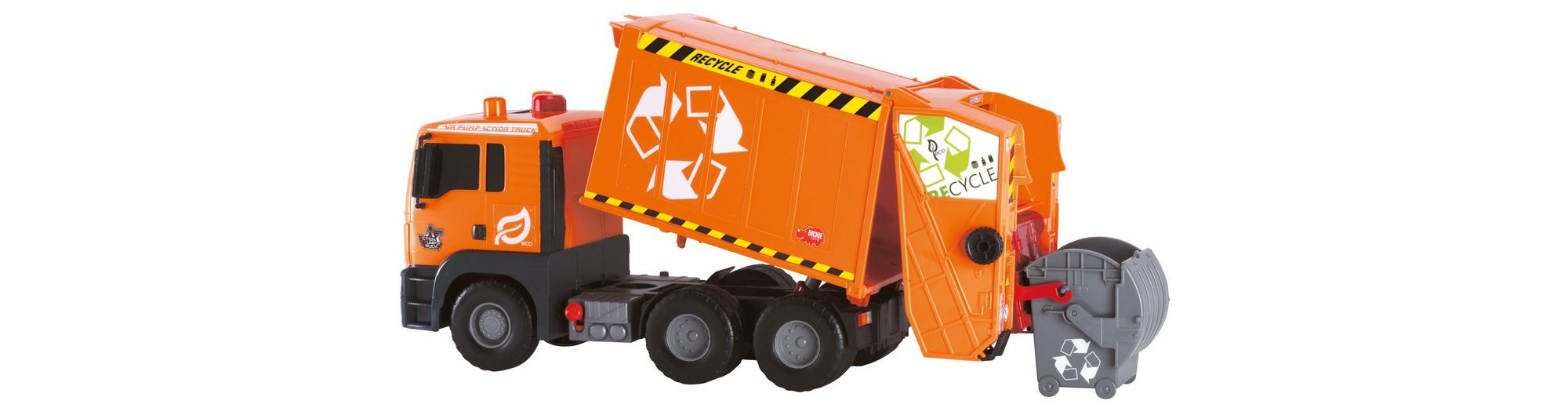 Dickie Spielzeug LKW, »Air Pump Garbage Truck«