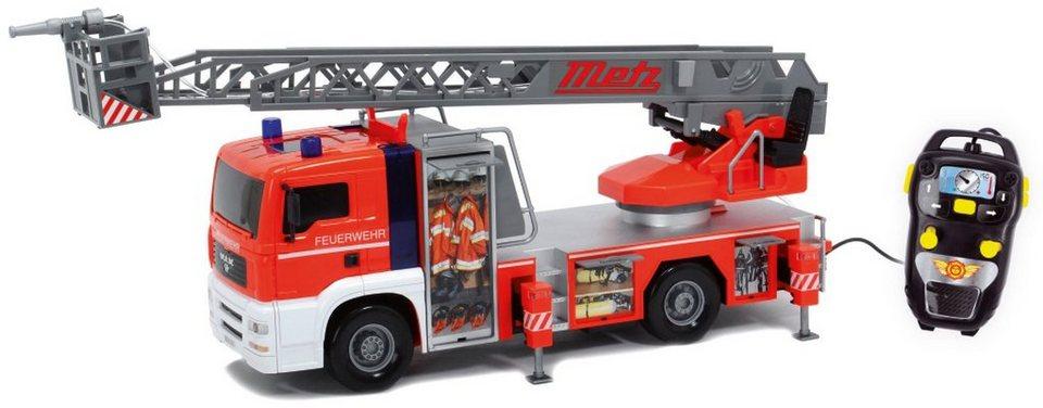 Dickie Kabelgesteuertes Feuerwehrauto, »Fire Patrol« in rot/grau