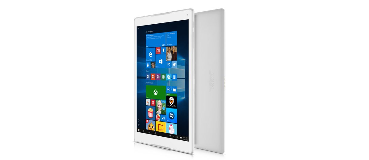 Alcatel Tablet mit Tastatur »Plus 10 25,65 cm Windows 10 Tablet LTE«