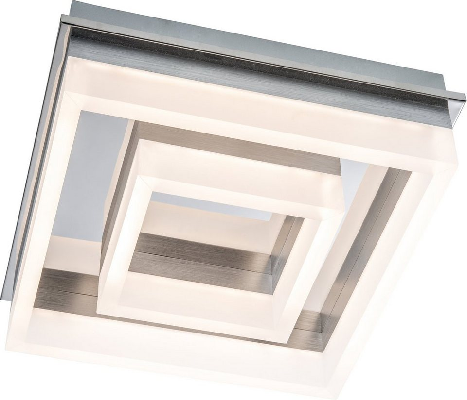 Nino LED-Deckenleuchte, »LENNOX« in chromfarben,weiß