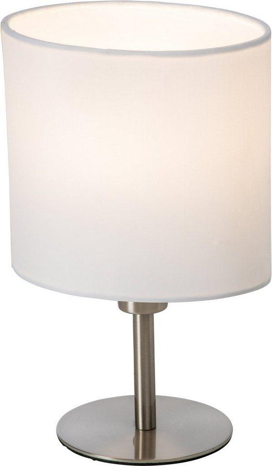 Nino LED-Tischleuchte, 1flg, »SPRING« in Schirm,weiß