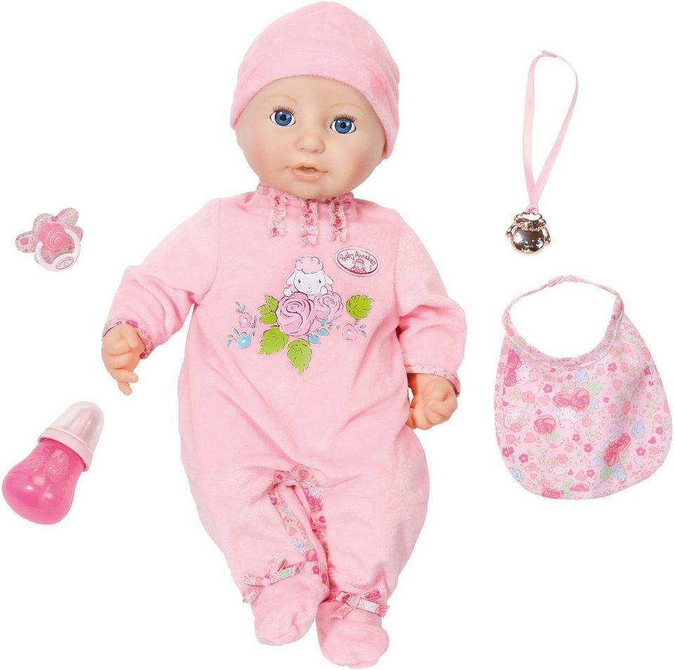 Zapf Creation Interaktive Puppe mit lebensechten Funktionen, »Baby Annabell®«