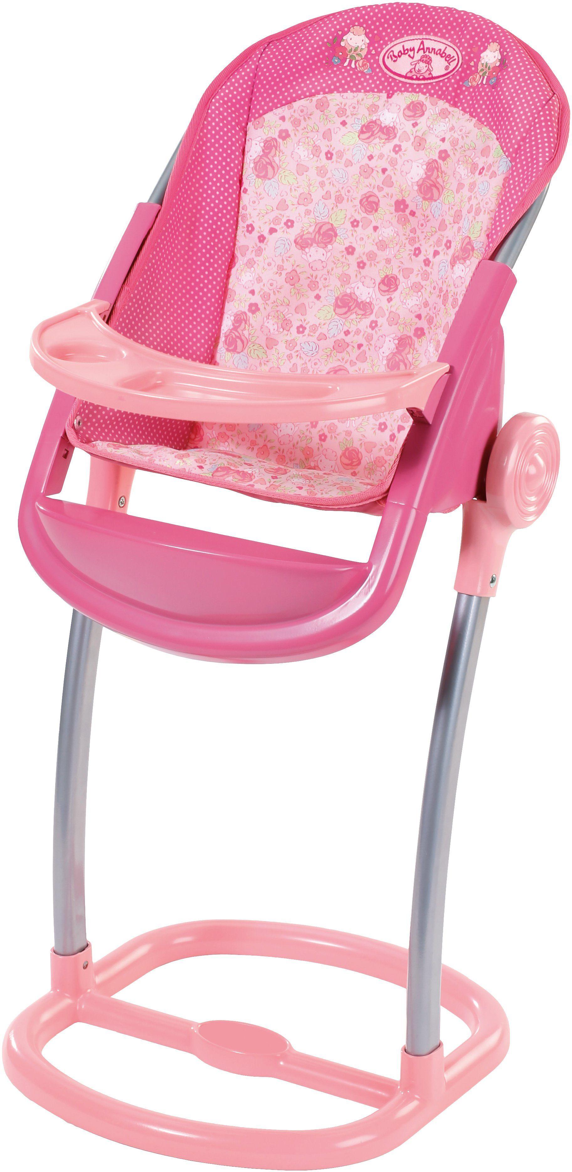 Zapf Creation Puppenhochstuhl mit Fußstütze, »Baby Annabell® Hochstuhl«