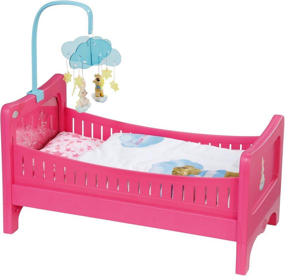 Zapf Creation Puppenbett, »BABY born® Bett« in rosa