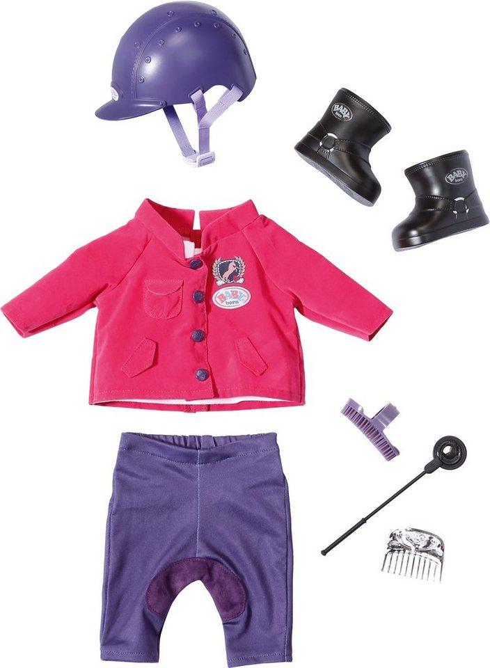 Zapf Creation Puppenkleidung passend für Größe 43 cm, »BABY born® Pony Farm Deluxe Reit Outfit«