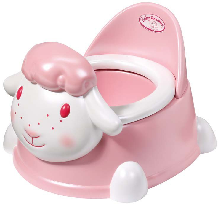 Zapf Creation Interaktives Puppentöpfchen, »Baby Annabell® Töpfchen« in rosa