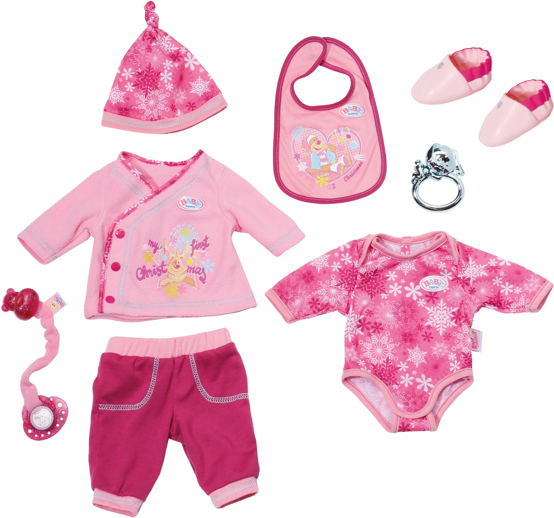 Zapf Creation Puppenkleidung passend für Größe 43 cm, »BABY born® Happy Birthday Christmas Set«