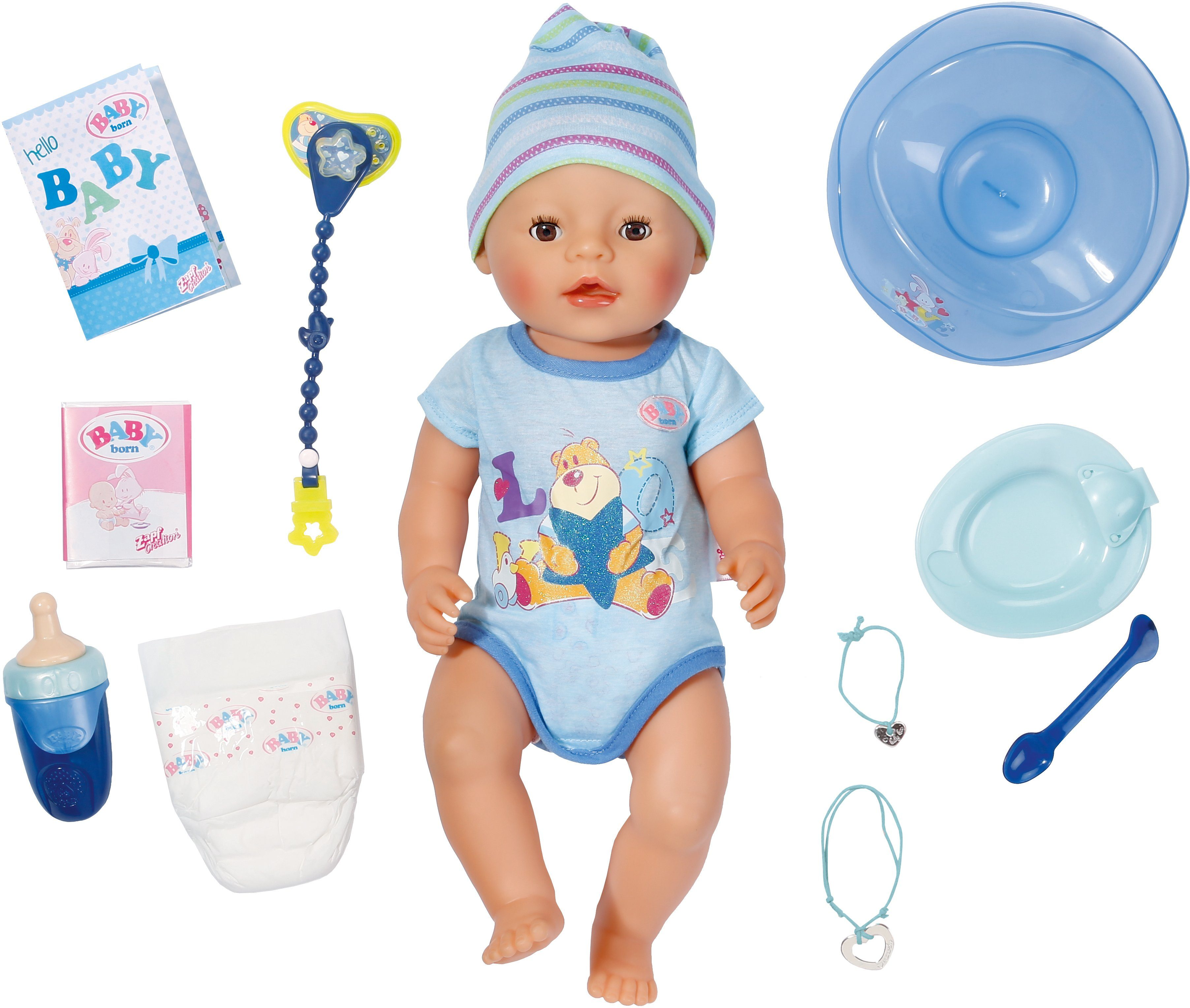 Zapf Creation Interaktive Babypuppe, »BABY born® Interactive Boy«