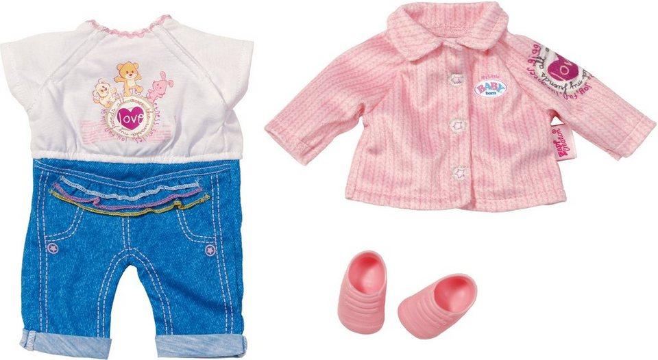 Zapf Creation Puppenkleidung passend für Größe 32 cm, »My Little BABY born® Kita-Set«