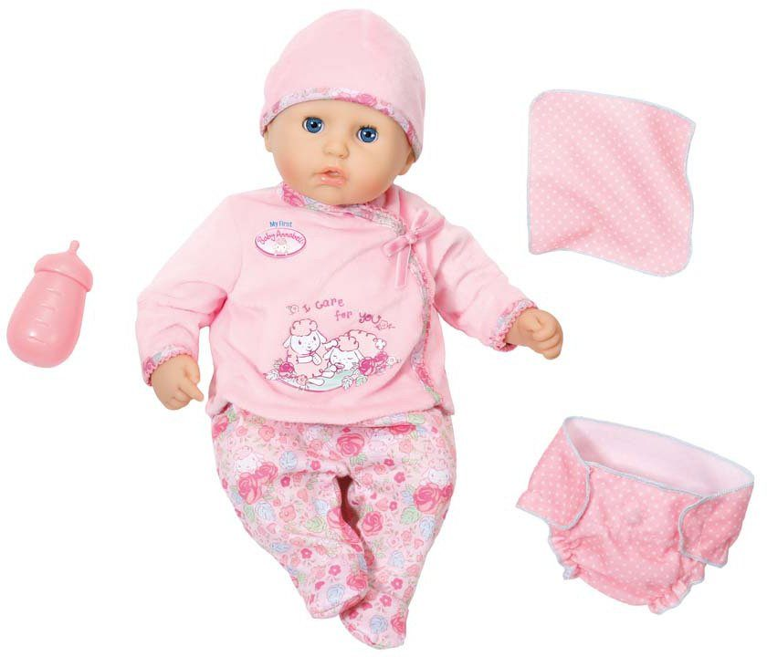 Zapf Creation Interaktive Babypuppe mit Spiel-App, »My First Baby Annabell® I Care for you«