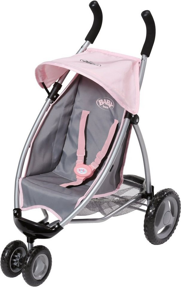 Zapf Creation Puppenwagen, »BABY born® Jogger« in rosa