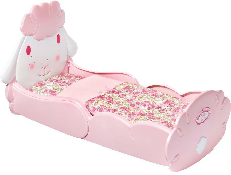 Zapf Creation Puppenbett, »Baby Annabell® Schäfchen-Bett« in rosa