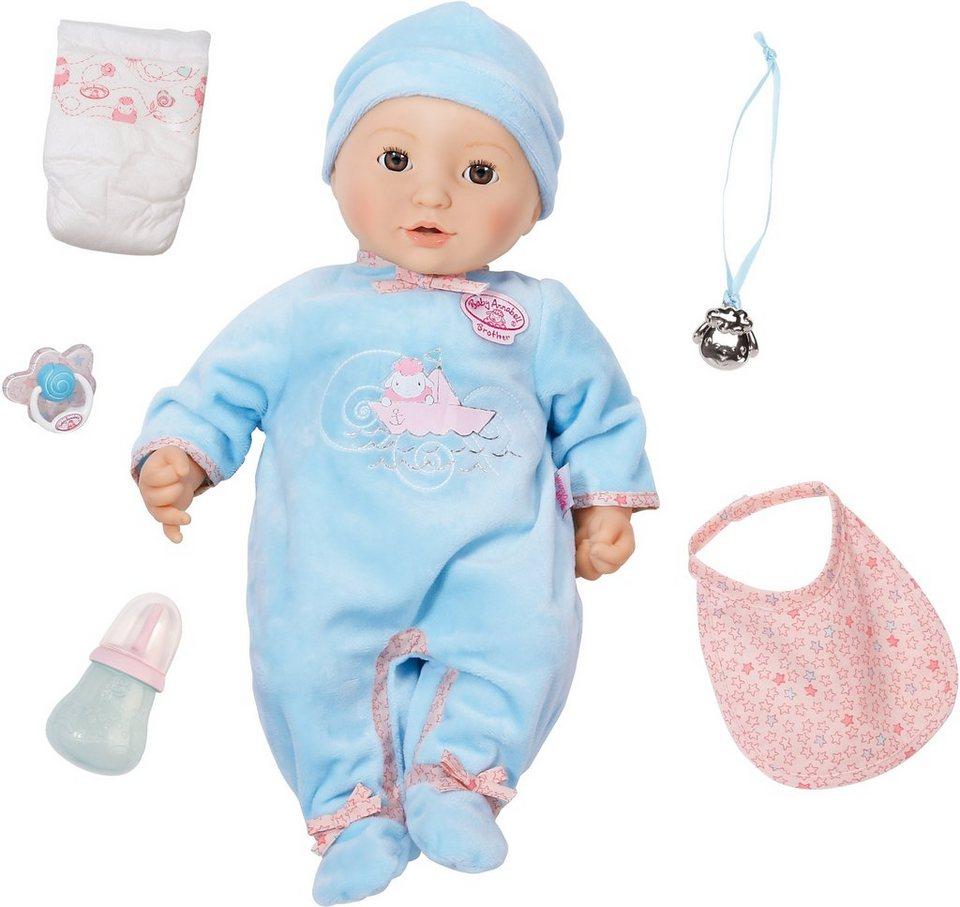 Zapf Creation Interaktive Babypuppe, »Baby Annabell® Brother«