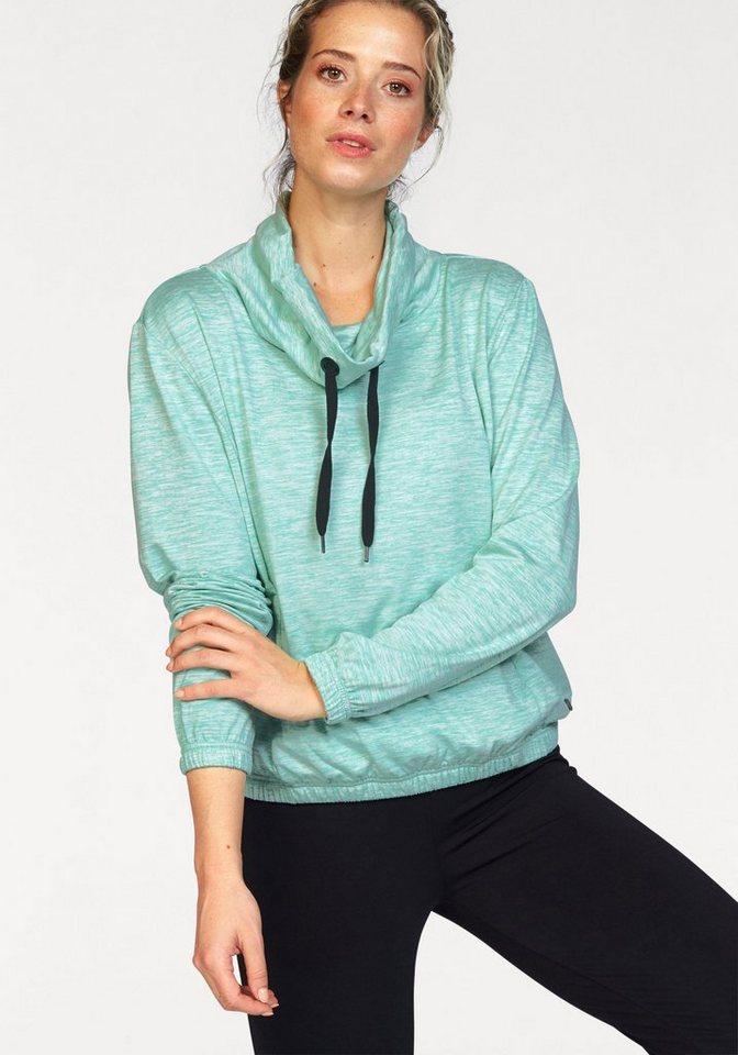 Ocean Sportswear Sweatshirt in meliert-meliert
