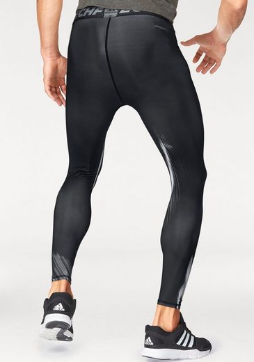 adidas Performance Funktionstights TECHFIT BASE GRAPHIC LONG TIGHTS