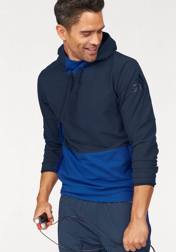 adidas Performance Langarmshirt »EXTREME WORKOUT OVER THE HEAD« in marine-blau