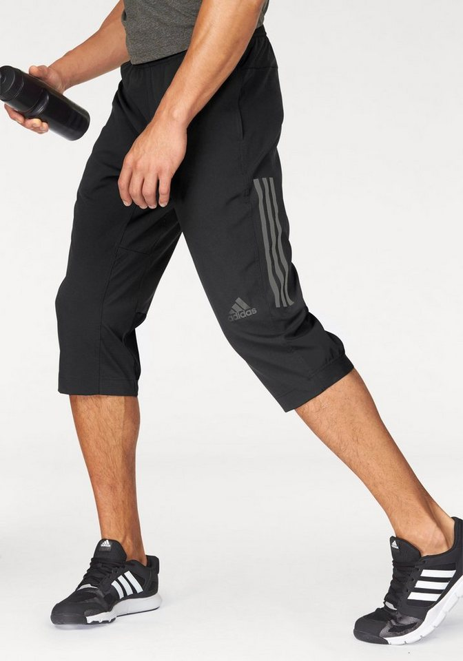 adidas Performance 3/4-Hose »3/4 WORKOUT PANT CLIMACOOL WOVEN« in schwarz
