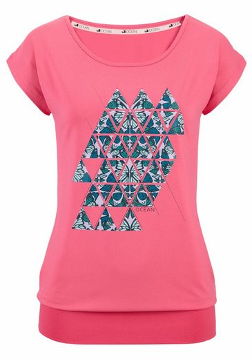 Ocean Sportswear Yogashirt (Packung, 2er-Pack), Bündchen am Abschluss