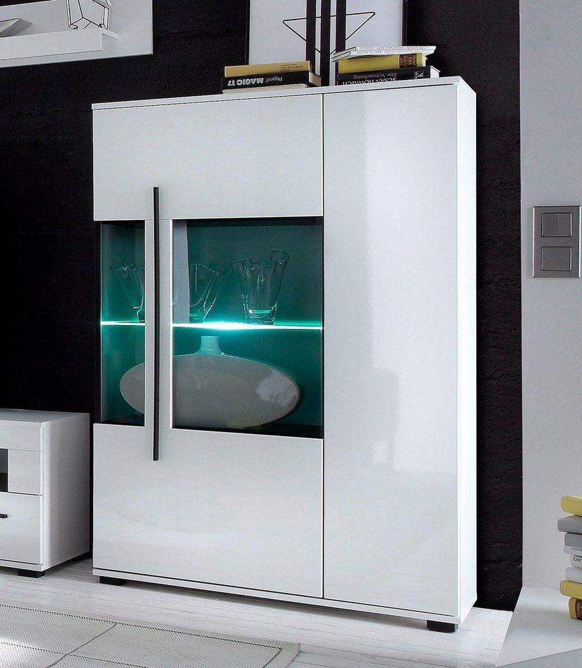 vitrine h he 140 cm online kaufen otto. Black Bedroom Furniture Sets. Home Design Ideas