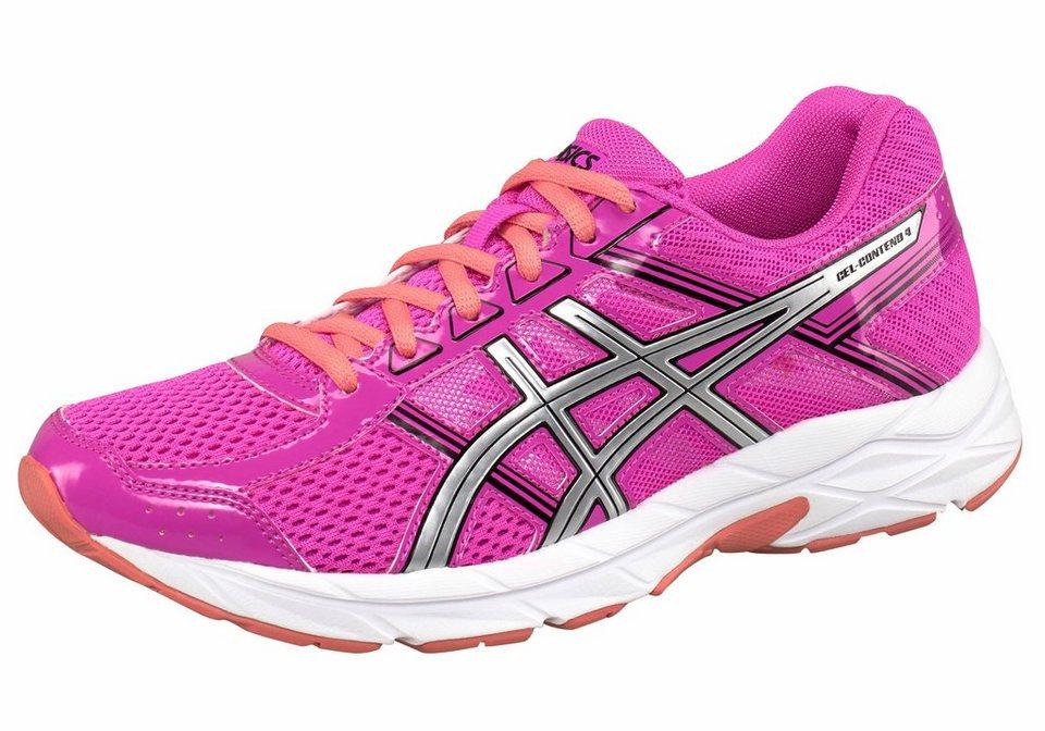 Asics »Gel-Contend 4« Laufschuh in pink-silberfarben
