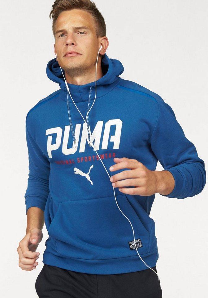 PUMA Kapuzensweatshirt »STYLE TEC HOODY FLEECE« in blau