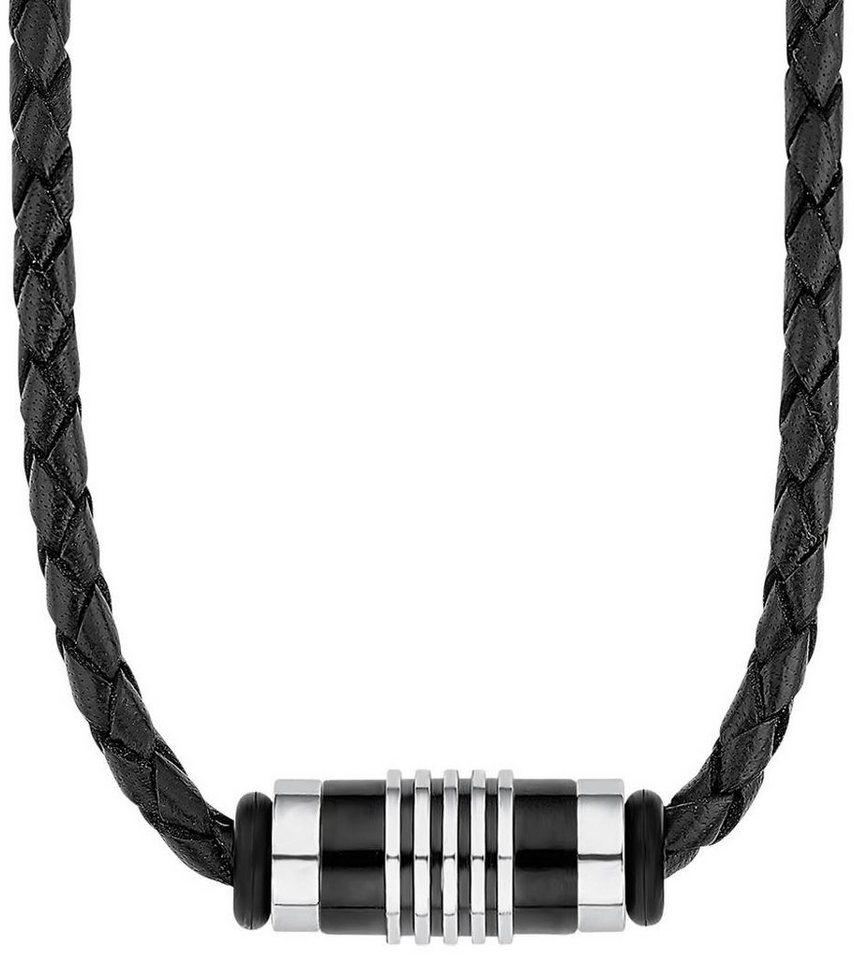 s.Oliver RED LABEL Halsband »2012595« in silberfarben-schwarz