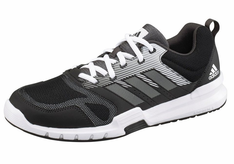 adidas Performance »Essential Star 3 M« Trainingsschuh in schwarz-grau