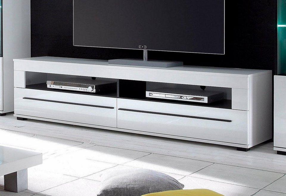 Lowboard 180 Cm Breit : lowboard breite 180 cm mit praktischer kabeldurchf hrung ~ Watch28wear.com Haus und Dekorationen