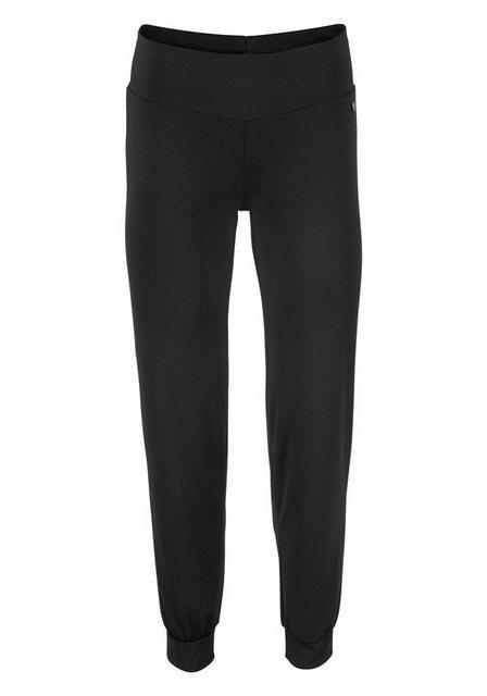 Damen Ocean Sportswear Funktionshose Yoga schwarz | 06950452558212