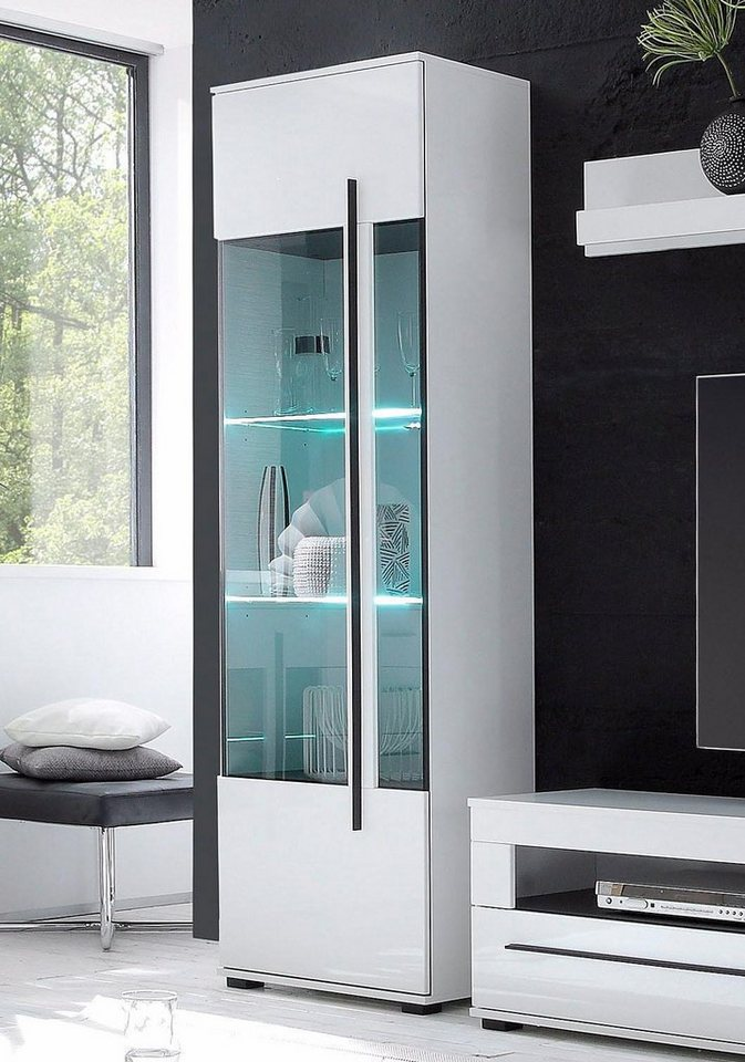 vitrine h he 200 cm online kaufen otto. Black Bedroom Furniture Sets. Home Design Ideas
