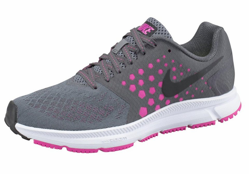 Nike »Zoom Span Wmns« Laufschuh in grau-pink