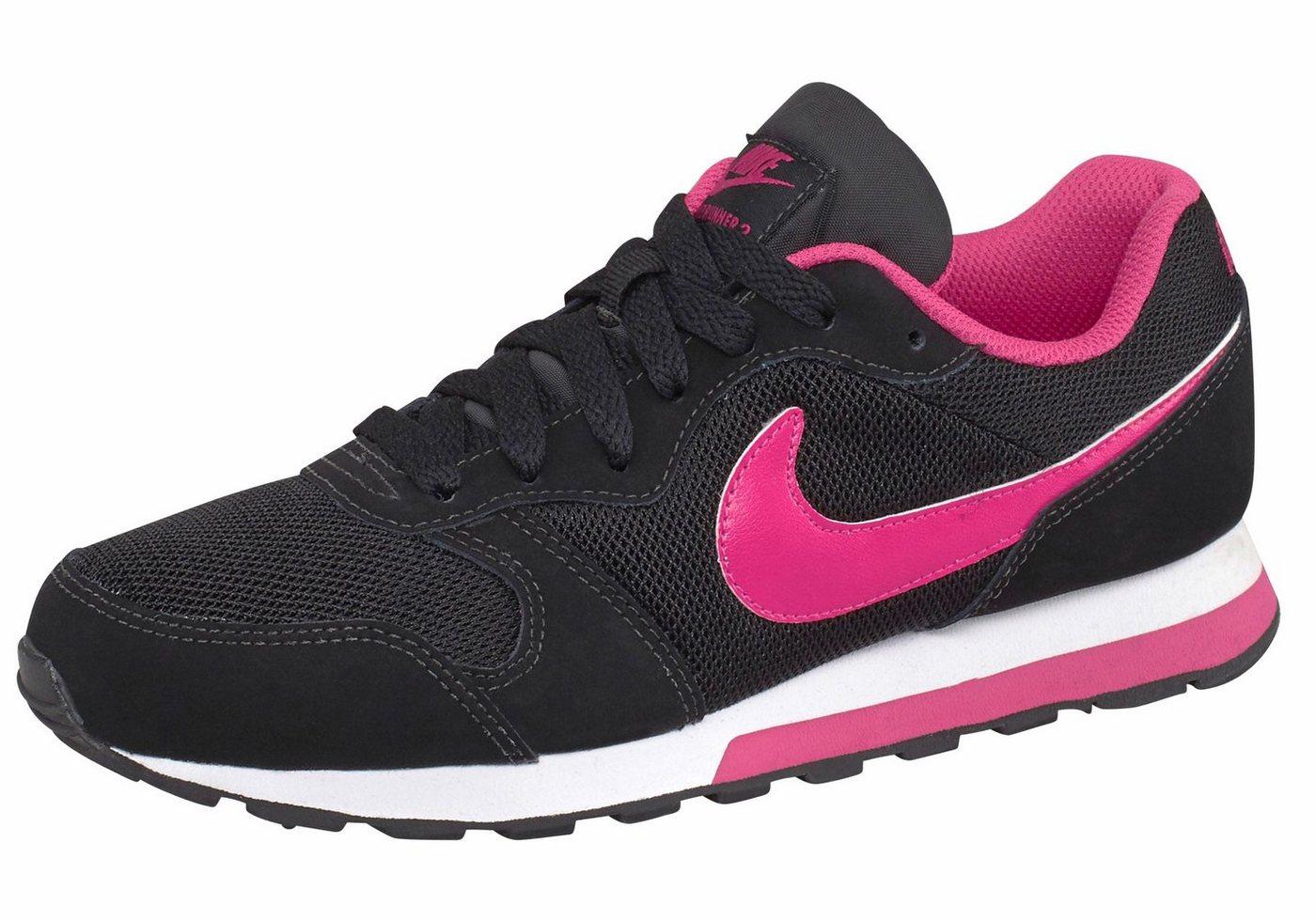Damen Nike Sportswear MD Runner 2 (GS) K Sneaker schwarz   00888410212684
