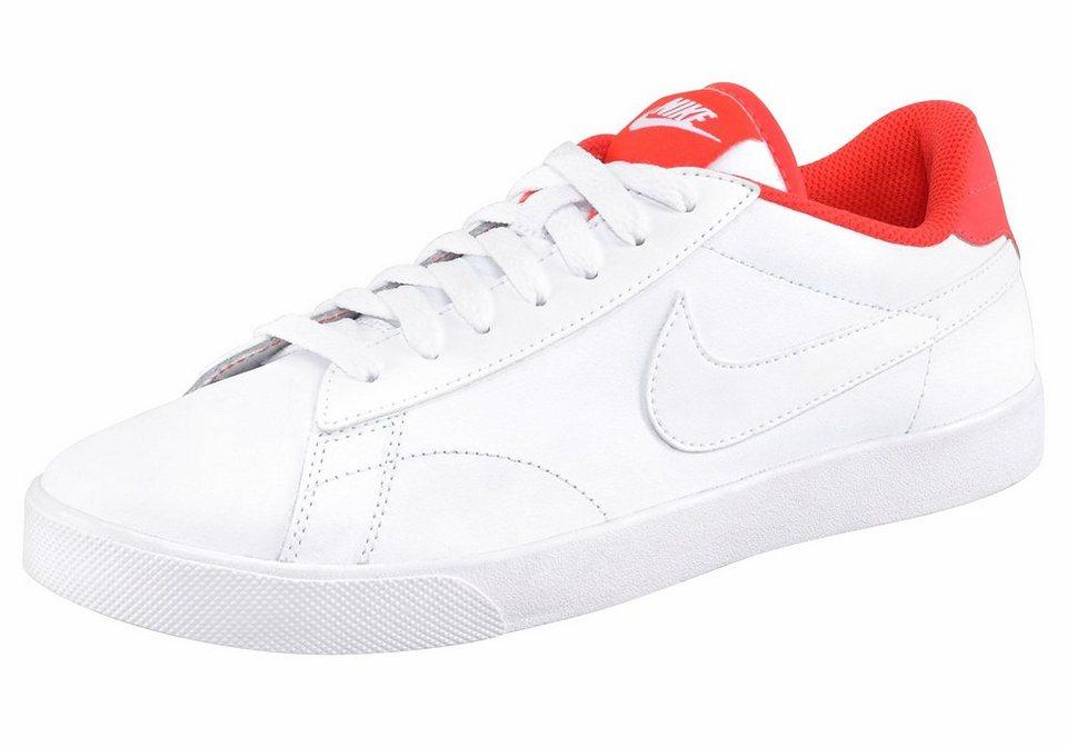 Nike »Wmns Racquett« Sneaker in weiß-koralle