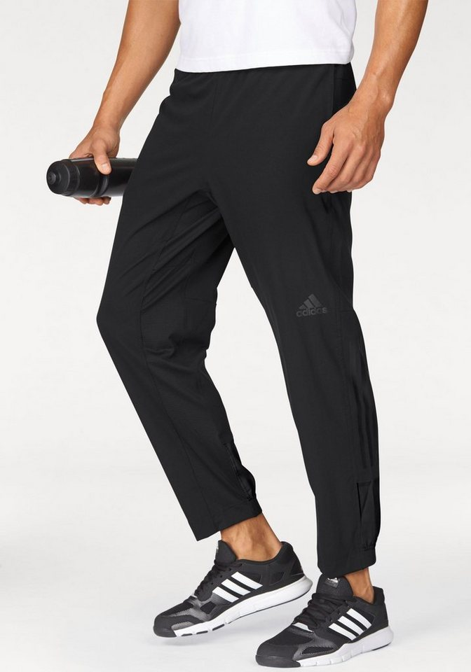 adidas Performance Sporthose »WORKOUT PANT CLIMACOOL WOVEN« in schwarz