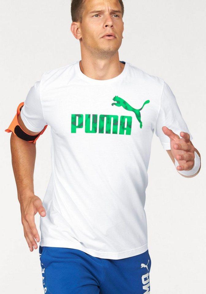 PUMA T-Shirt »HERO TEE« in weiß