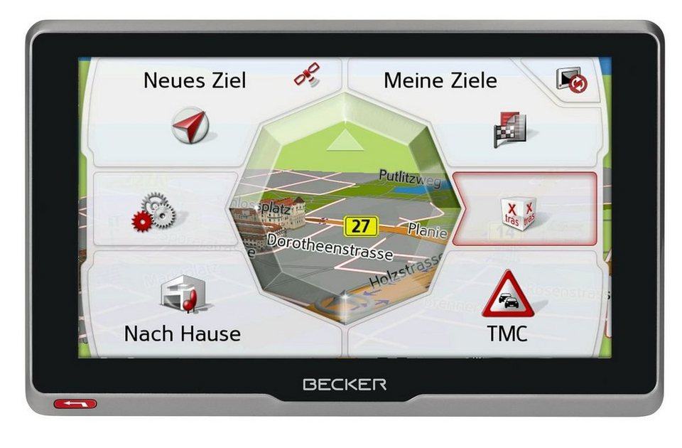 Becker LKW-Navigationsgerät »transit.6s EU« in Schwarz-Anthrazit