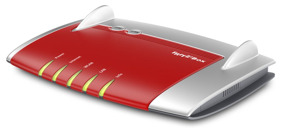 AVM Router »FRITZ!Box 4040« in Rot-Silber