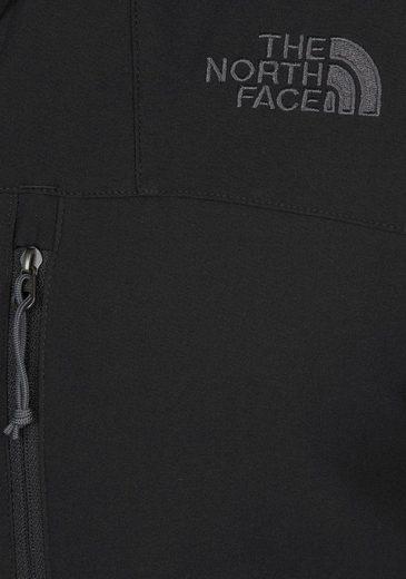 The North Face Softshelljacke MEN´S NIMBLE JACKET, aus winddichtem & wasserabweisendem Material