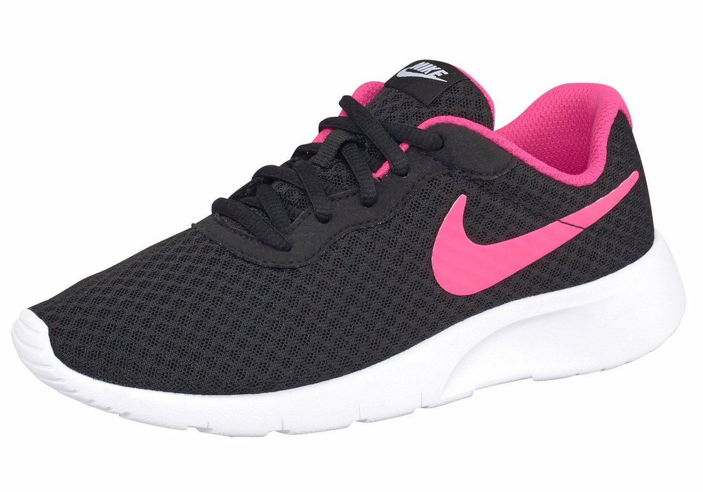 Damen Nike Sportswear Tanjun Sneaker schwarz   00886668220840