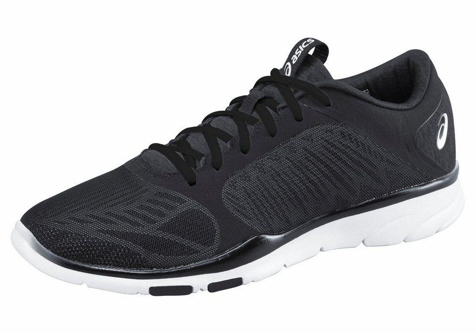 Asics »Gel-Fit-Tempo 3« Fitnessschuh in schwarz-silberfarben