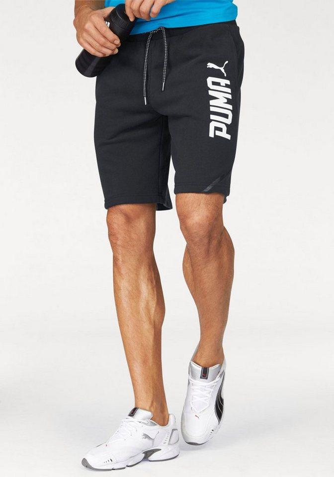 """PUMA Shorts »STYLE TEC 10"""" SHORTS TR« in schwarz"""