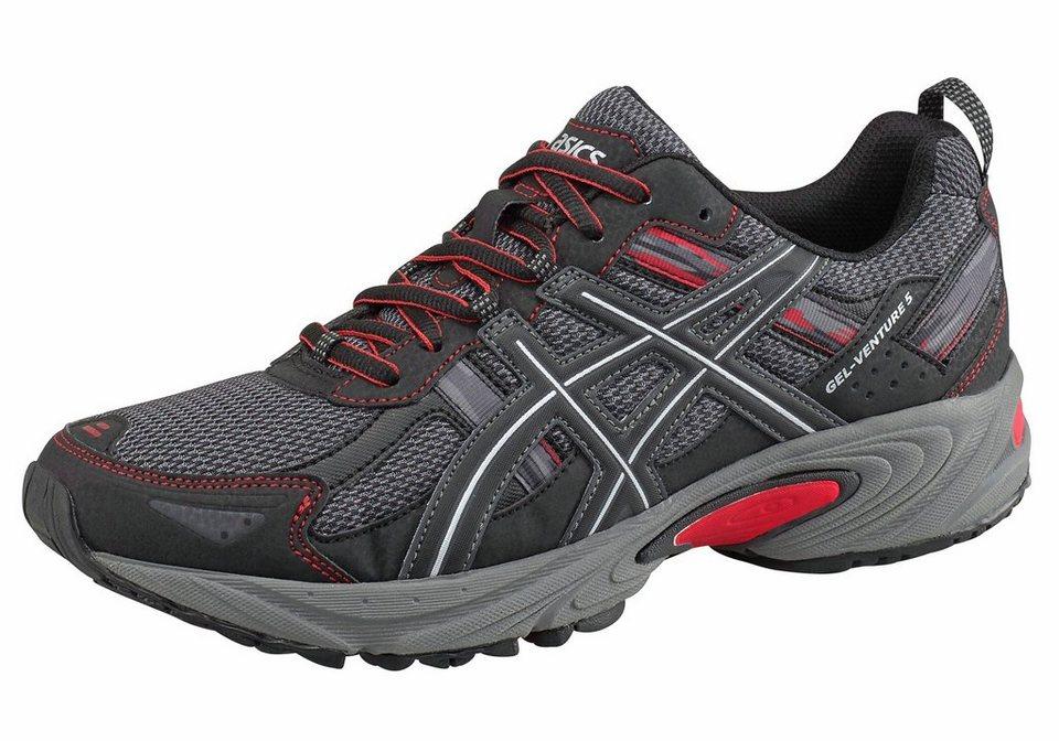 Asics »Gel-Venture 5« Laufschuh in schwarz-rot