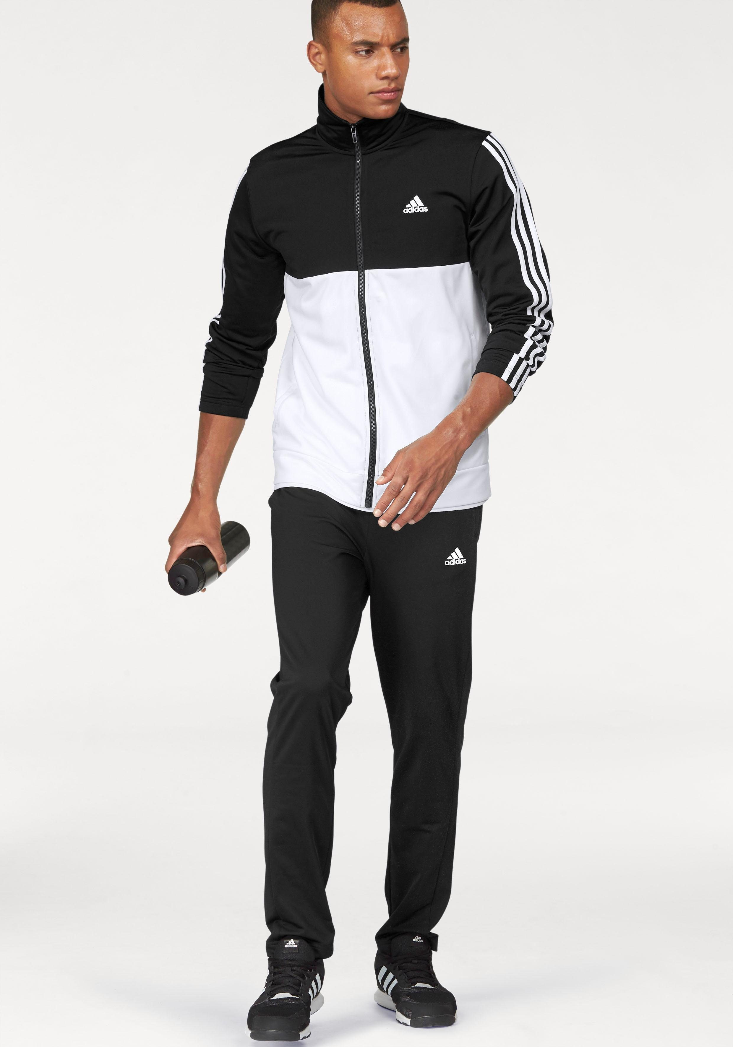 adidas Performance Trainingsanzug PES COSY TS schwarz weiß