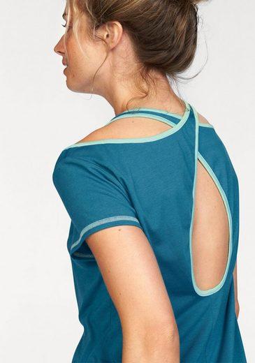 Ocean Sportswear Yogashirt, mit raffiniertem Rückenausschnitt