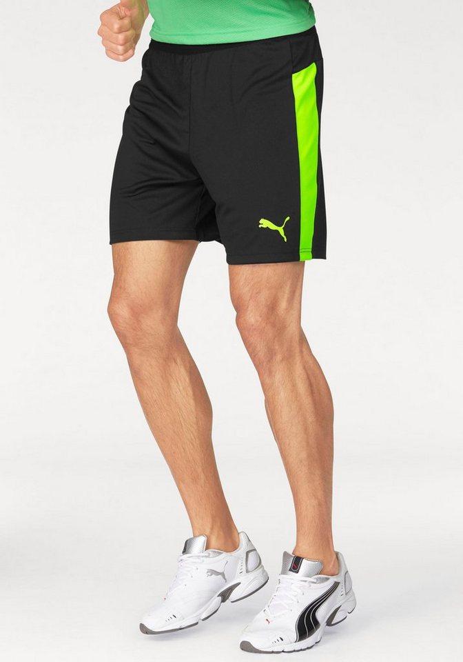 PUMA Shorts »IT EVO TRAINING SHORTS« in schwarz-grün